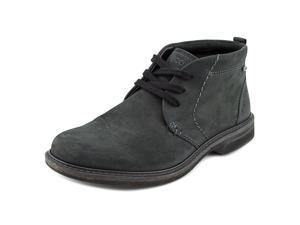 Ecco Turn Mid Cut Lace Men US 7 Black Boot EU 39