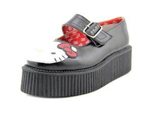T.U.K. Hello Kitty Mary Jane Creeper Women US 8 Black Mary Janes