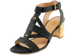 Franco Sarto Paloma Women US 8 Black Sandals