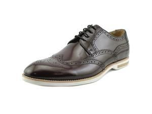 Kenneth Cole NY Very Structured Men US 11.5 Brown Wingtip Oxford