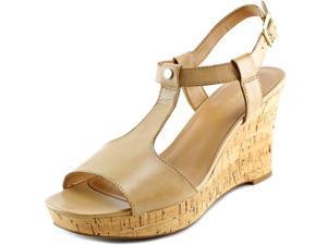 Franco Sarto Corridor Women US 9.5 Tan Wedge Sandal