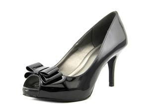 Kelly & Katie Eleanore Women US 8 Black Peep Toe Heels