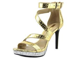BCBGeneration Eddi Women US 9 Gold Platform Heel