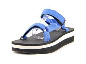 Teva Flatform Universal Women US 7 Blue Wedge Sandal UK 5