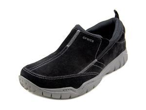 Crocs Swiftwater Moc  Men US 7 Black Loafer