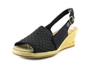 Easy Street Alyssa Women US 8 N/S Black Wedge Sandal