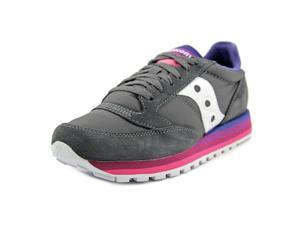 Saucony Jazz O Rainbow Women US 9 Gray Sneakers
