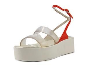 Calvin Klein Collection Kate Women US 7 Clear Platform Sandal