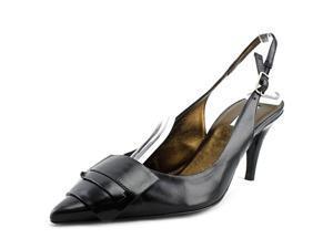 Calvin Klein Collection Johna Women US 7 Black Slingback Heel EU 37