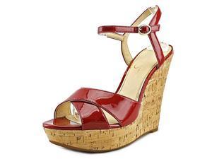 Jessica Simpson Isadoraa Women US 10 Red Wedge Sandal