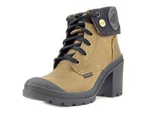 Palladium Baggy Heel Women US 5.5 Brown Boot UK 3.5 EU 36