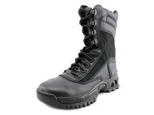 Ridge Air Tac Plus Zipper Women US 6 Black Steel Toe Combat Boot