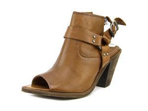 Frye Izzy Harness Sling Women US 11 Brown Slingback Heel