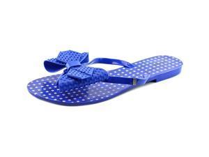 Melissa Harmonic Bow AD Women US 9 Blue Thong Sandal
