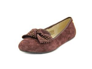 Ugg Australia Alloway Studded Bow Women US 7.5 Brown Flats