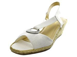 Beacon Fiesta Women US 6 N/S White Slingback Sandal