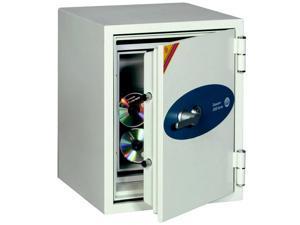 Phoenix Datacare 2-Hour Key Lock Fireproof Media Safe - 0.58 cu ft