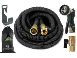 ALL NEW 2017 Heavy Duty Garden Hose Set 100 Feet