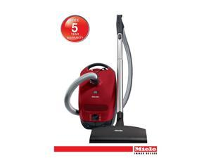 Classic C1 Cat & Dog - Full Size Mango Red Canister Vacuum. Perfect for pet owners and low and medium pile carpets, area rugs and hardfloors.