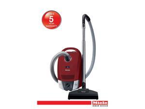 Compact C2 Home Care - Compact Mango Red Canister Vacuum. Perfect for low and medium pile carpets, area rugs and ...