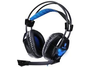 Sades A30 7.1 Surround Effect USB Gaming Headset Headphone With Mic For PC Game