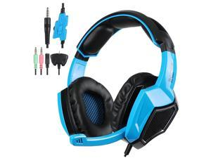 Sades SA-920 Stereo Gaming Headset Headphone with MIC for PS4/Xbox/LOL Blue