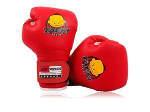 PU Leather Kids Children Cartoon Sparring dajn Boxing Gloves Training Age 5-10