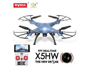 Syma X5HW FPV 4CH RC Quadcopter Drone with HD Wifi Camera Hover Function Blue