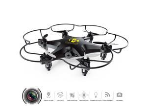Cheerwing CW6 Mini RC Hexacopter Quadcopter 2.4G 6-Axis Gyro 3D Drone w #47; Camera