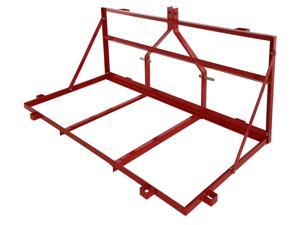 6ft Carry All Platform 3PT Cat 1 Three Point Hitch Steel w Pockets Tractor Deere