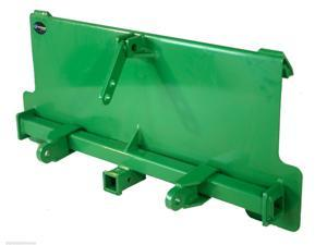 John Deere 3 Point Attachment Adapter trailer hitch series tractor loader hay