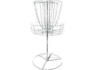 Titan Disc Golf Basket Double Chains Portable Practice Target Steel frisbee hole
