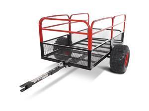 "Titan 60""x31"" Steel ATV Utility Trailer 1,250 lb Capacity Pin Hitch 18"" Tires"