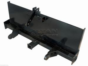 Skidsteer 3 Point Attachment Adapter Skid Steer trailer hitch front loader case