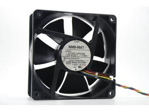 Computer fan case cooler NMB-MAT 4715KL-04W-B86 12038 12V 2.5A 4 wire axial fan For PE840 PE850 D6168 cooling fans CPU