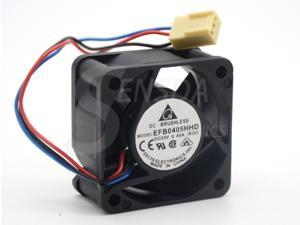 NEW EFB0405HHD 4020 40mm 4cm DC 5V 0.45A alarm signal dual ball bearing fans switch computer case cooling fan