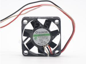 Original Sunon maglev KDE0504PFV1 4010 4cm 40mm DC 5V 1.2W 3Wire server inverter axial Cooling Fans computer case cooler