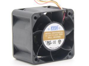 4CM  original AVC 40x40x28mm double ball bearing 12V 0.66A DB04028B12U  23.8CFM Ultra speed cooling fan 4-WIRE PWM server fan large wind speed regulating fan
