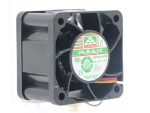 MAGIC MGT4012ZB-W28(R) 4cm 40mm 4028 12V 0.40A 4 wire PWM fan speed control cooling fan cooler