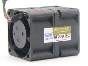 AVC DB04048B12U 4048 4cm 40*40*28MM 12V 1.14A Dual-motor high speed violence fanAVC DB04048B12U 4048 4cm 40*40*28MM 12V 1.14A Dual-motor high speed violence fan