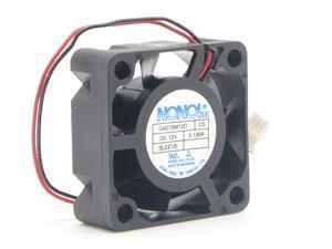 NONOISE G4015M12D CS 4CM 40mm DC12V 0.130A 40*40*15MM 4015 server inverter fan case cooler