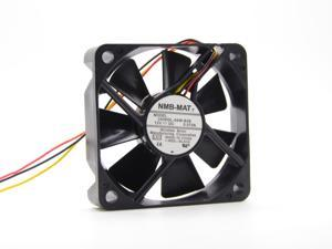 """Samsung TV HL50A650C1FXZA DMD Fan w/ 17"""" wire NMB 2406GL-04W-B29 12V 0.072A 3-wire 60x60x15mm Server Inverter cooler For PANASONIC cooling fan"""