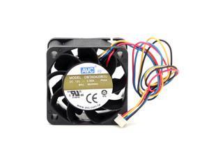 AVC 4020 4CM 4*4 40*40*20MM 12V 0.50A DBTA0420B2U 4 -wire speed 4CM violent fan case silent cooler