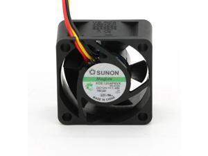 SUNON KDE1204PKVX 4020 40mm Maglev Cooler Cooling Fan 12V 1.4W case cooler computer fan 3-pin 3-wire