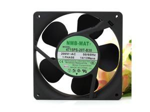 NEW NMB-MAT 4715PS-20T-B30 200V 14/13W 12038 aluminum frame suitable for 220V industrial case cooling fan