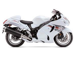 White Red Complete Fairing Injection for 2008-2014 Suzuki GSXR 1300 Hayabusa