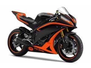 Orange w/ Matte Black Fairing Injection for 2006-2007 Yamaha Yzf R6 R600 YZF-R6