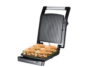 ZZ SM312 Gourmet Health and Contact Grill Panini Press & Sandwich Maker with Large Cooking Surface