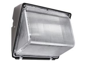 50W Metal Halide Wall?Pack Bronze Clear High Impact Polycarbonate Lens