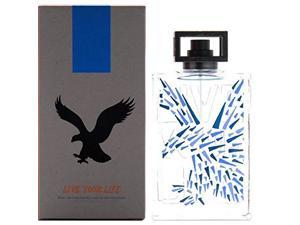American Eagle - Live your Life - 3.4 oz Eau de Cologne spray for Men